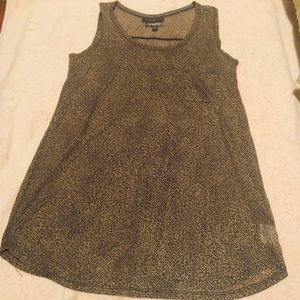 A Pea in the Pod Animal Print Tank Shirt Size L